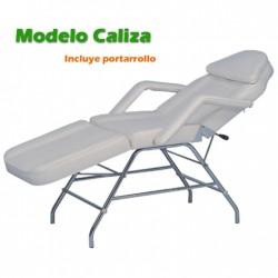 CAMILLA DE MASAJE MOD. CALIZA BLANCA TRES CUERPOS