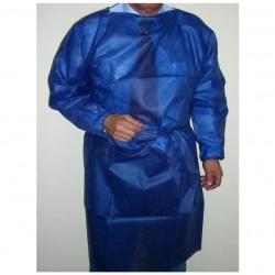 BATA PROTECCIÓN PP 50g. Azul oscuro bolsa 10u.