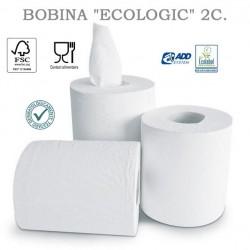 """BOBINA SECAMANOS """"ECOLOGIC"""" 450 servicios 6 ROLLOS"""