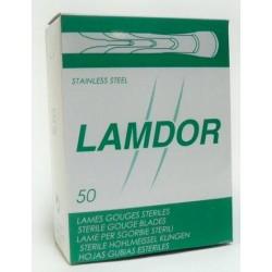 GUBIA ESTERIL LAMDOR Nº1 C/50 u.