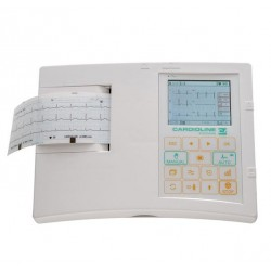 ELECTROCARDIOGRAFO CARDIOLINE AR600 view package