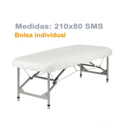 SABANILLA AJUSTABLE BLANCA 210x80 SMS indiv