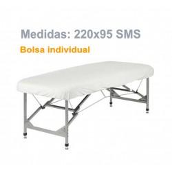 SABANILLA AJUSTABLE BLANCA 220x95 SMS indiv